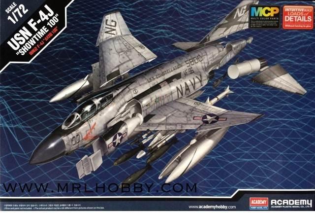 เครื่องบิน Academy F-4J SHOWTIME 100