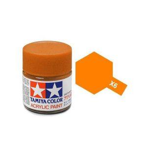 สีสูตรน้ำทามิย่า TAMIYA X-6 Orange ขาย