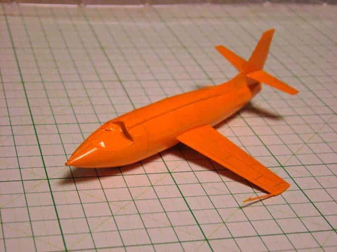 สีสูตรน้ำ TAMIYA X-6 Orange