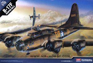 โมเดลเครื่องบิน Academy BOEING B-17F MEMPHIS BELLE