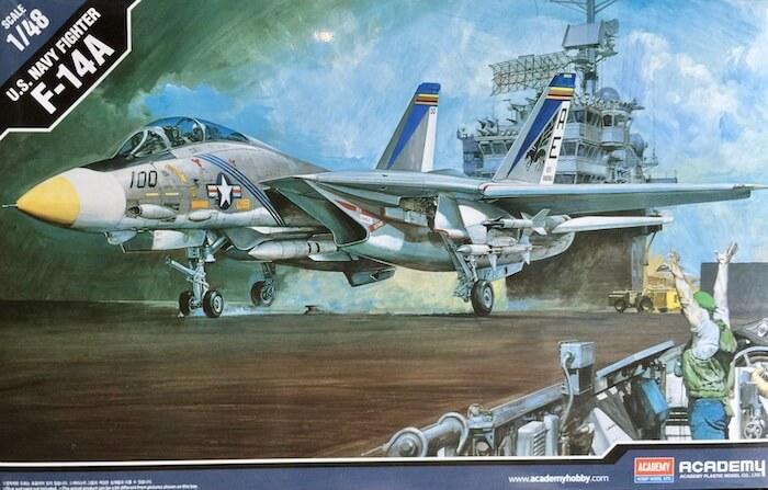 โมเดลเครื่องบินอะคาเดมี่ Academy 12253 F-14A TOMCAT 1/48