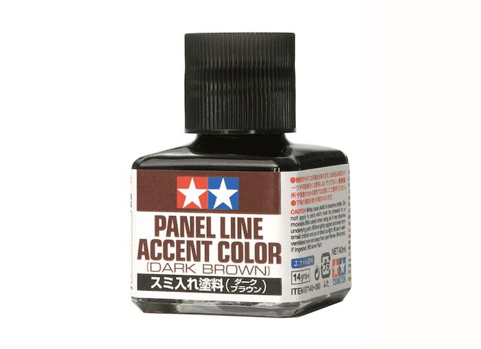 น้ำยาตัดเส้น Panel Line Accent Color Dark Brown