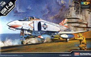 โมเดลเครื่องบิน Academy F-4B VF-111 SUNDOWNERS 1/48