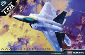 โมเดลเครื่องบิน Academy F-22A Air Dominance Fighter