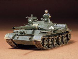 โมเดลรถถังทามิย่า Russian T-62A Tank 1/35
