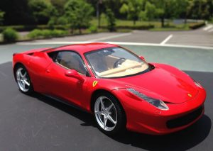 โมเดลรถเฟอรารี่ Fujimi Ferrari 458 Italia 1/24