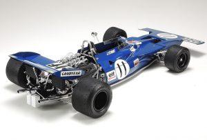 โมเดลรถ F1 ทามิย่า Tyrrell 003 1971 โมนาโก GP 1/12