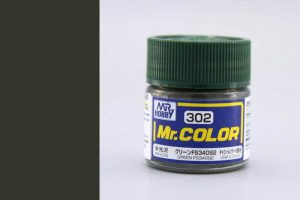 MR COLOR C302 Green FS34092