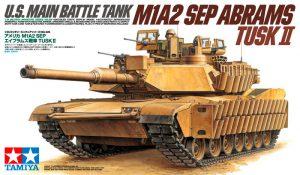 โมเดลรถถังหลัก M1A2 SEP Abrams TUSK II 1/35