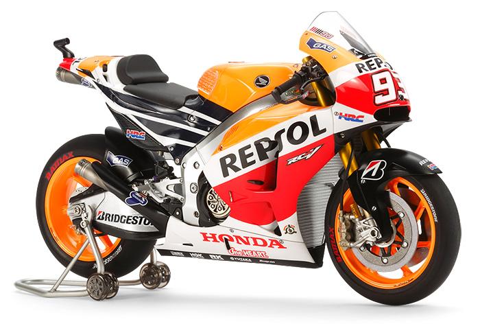 โมเดลรถมอเตอร์ไซค์ Repsol Honda RC213V 2014 1/12