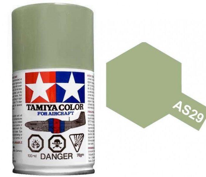 สีสเปรย์ทามิย่า Tamiya AS29 Gray-Green