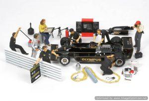 โมเดลรถ Tamiya Wolf WR1 1977 Grand Prix Collection