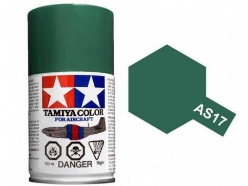 สีสเปรย์ทามิย่า Tamiya AS-17 Dark Green IJA