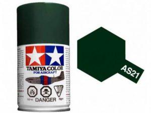 สีสเปรย์ทามิย่า Tamiya AS-21 Dark Green 2 IJN