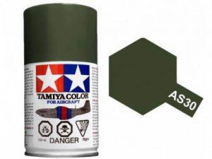 สีสเปรย์ทามิย่า Tamiya AS-30 RAF Dark Green 2