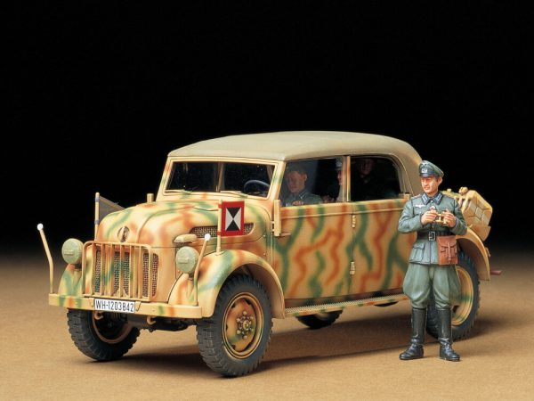 โมเดลรถนายทหารเยอรมัน Kommandeurwagen German Steyr Type 1500A 1/35