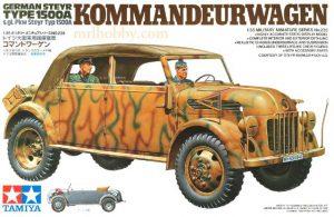 โมเดลทามิย่า German Steyr Type 1500A Kommandeurwagen 1 : 35