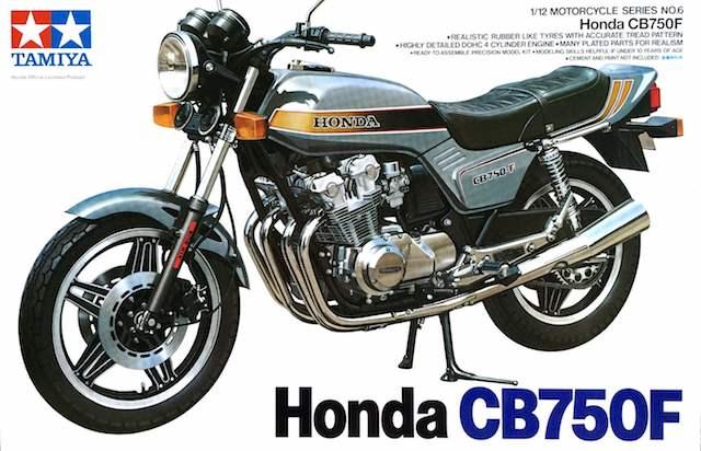 โมเดลรถมอเตอร์ไซค์ทามิย่าฮอนด้า Honda CB750F 1/12