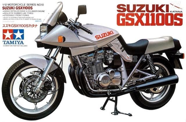 โมเดลมอเตอร์ไซค์ ทามิย่า Suzuki GSX1100S Katana 1/12