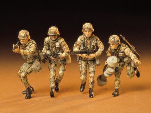 โมเดลทหารอเมริกันยุคใหม่ U.S.Modern Army Infantry Set 1/35