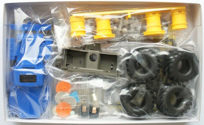 ทามิย่า มินิโฟร์วิล Mini 4WD BULLHEAD Jr 1/32