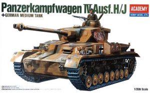 โมเดลประกอบรถถัง Academy panzerkampfwagen iv ausf H ขาย