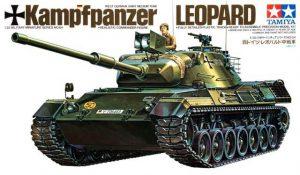 โมเดลประกอบรถถัง Federal German Leopard 1 MBT 1 : 35 ขาย