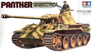 โมเดลประกอบรถถังทามิย่า German Panther Ausf A 1 : 35 ขาย