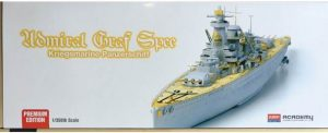 โมเดลเรือรบ Academy German Battleship Admiral Graf Spee 1 : 350 ขาย