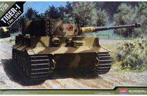 โมเดลประกอบรถถัง Academy German Tiger I Late Ver 1 : 35 ขาย