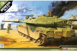 โมเดลประกอบรถถัง Academy Merkava Mk.IV LIC 1 : 35 ขาย