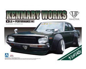 โมเดลรถยนต์ประกอบ Aoshima LB Works Kenmeri 4Dr 2015 ver ขาย
