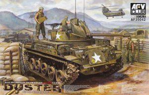 โมเดลรถถัง ปตอ.อัตตาจร M42 Duster 1/35