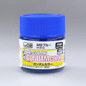 สีกันดั้ม UG02 MS Blue Gundam Color 10ml