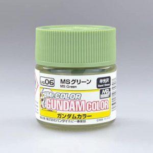 สีกันดั้ม UG06 MS Green Gundam Color 10ml