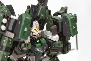 สีกันดั้ม UG07 MS Deep Green Gundam Color 10ml