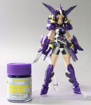 สีเมทัลลิก Mr.Metallic Color GX207 Metal Violet