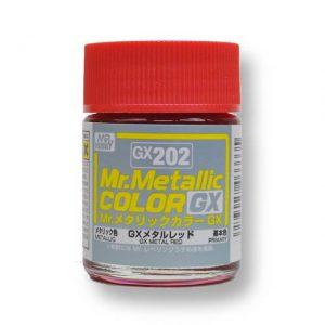 สีเมทัลลิก Mr.Metallic Color GX202 Metal Red ขาย
