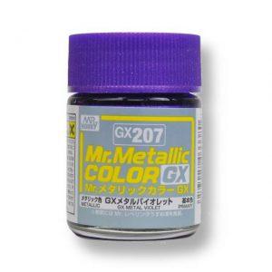 สีเมทัลลิก Mr.Metallic Color GX207 Metal Violet ขาย
