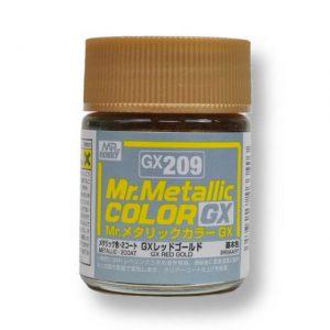สีเมทัลลิก Mr.Metallic Color GX209 Red Gold ขาย