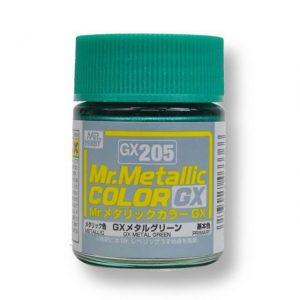 สีเมทัลลิก Mr.Metallic Color GX205 Metal Green ขาย