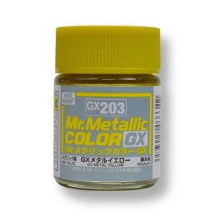 สีเมทัลลิก Mr.Metallic Color GX203 Metal Yellow ขาย
