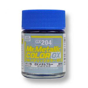 สีเมทัลลิก Mr.Metallic Color GX204 Matal Blue ขาย