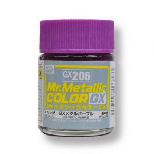 สีเมทัลลิก Mr.Metallic Color GX206 Metal Purple ขาย