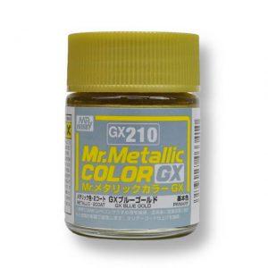 สีเมทัลลิก Mr.Metallic Color GX210 Blue Gold ขาย