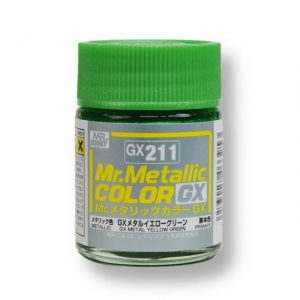 สีเมทัลลิก Mr.Metallic Color GX211 Yellow Green ขาย