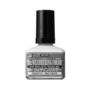 สีคราบขาว Mr Weathering Color Multi White ขาย