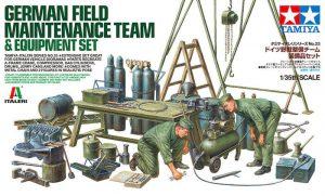 โมเดลฟิกเกอร์ทหาร Germany Field Maintenance Team Equipment 1/35