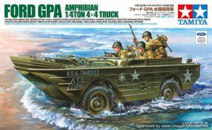 โมเดลรถจี๊บสะเทินน้ำสะเทินบก Ford G.P.A. 1/4 tons 4x4 Truck 1/35