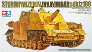 โมเดลรถถังเยอรมัน Strumpanzer IV Brummbaer 1/35